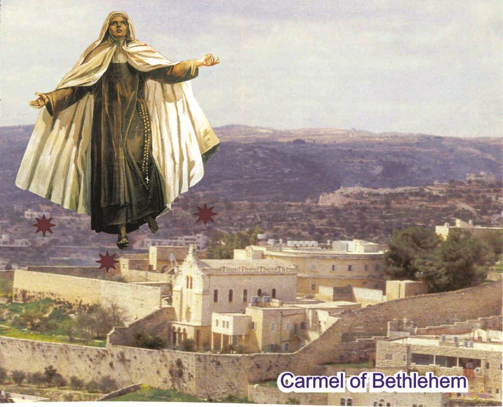 معجزات القديسة مريم ليسوع المصلوب