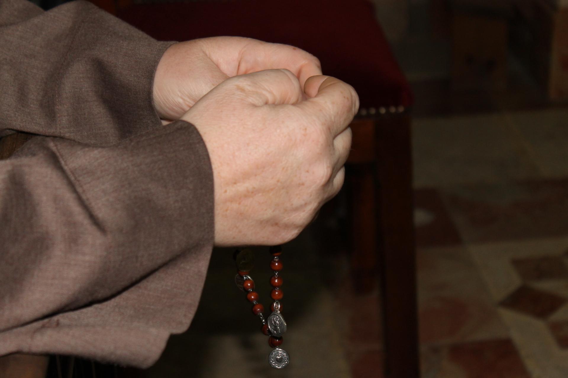 Rosario por la intercesión de la Santa
