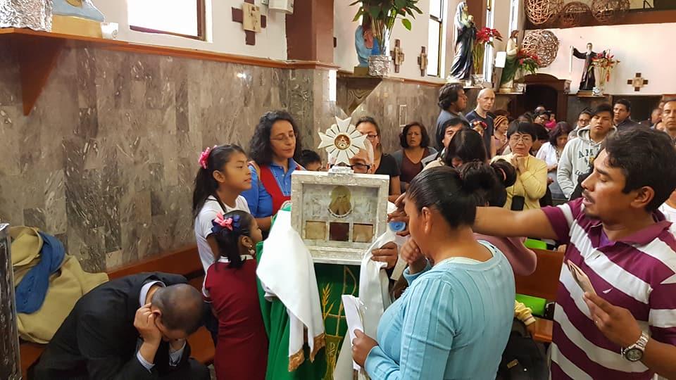 Visita a la Parroquia de Nuestra Señora de Guadalupe