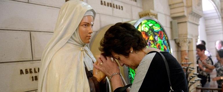 Los líderes cristianos esperan que los santos palestinos puedan ser intercesores por la paz