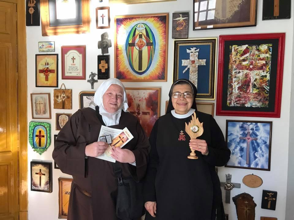 Visita a la Congregación de Religiosas de la Cruz del Sagrado Corazón de Jesús