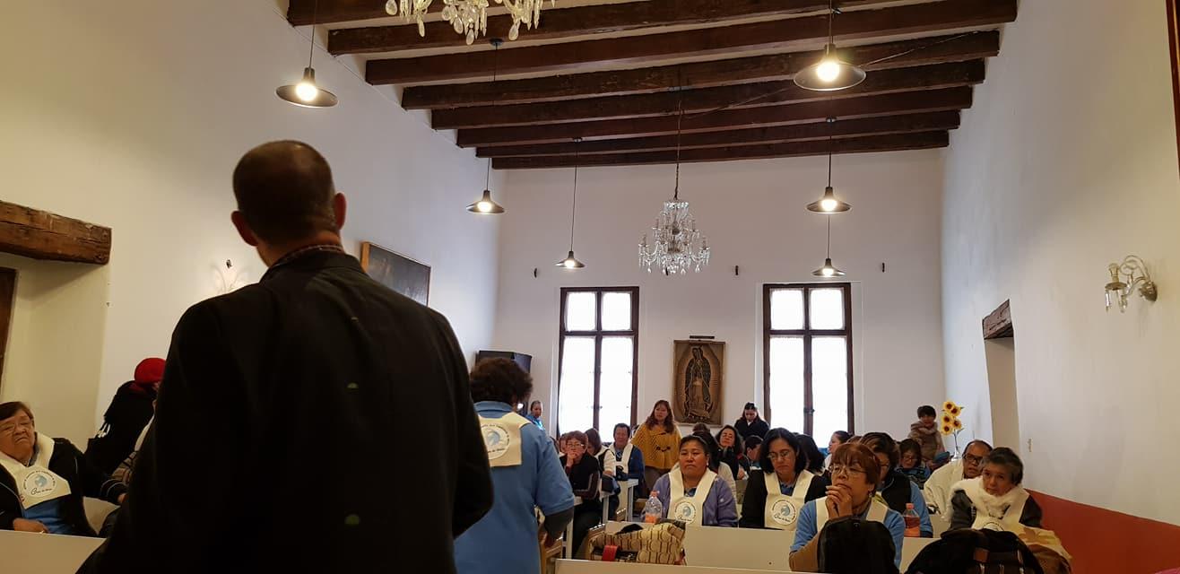 Visita al Grupo de Intercesión, Parroquia de Santa Veracruz