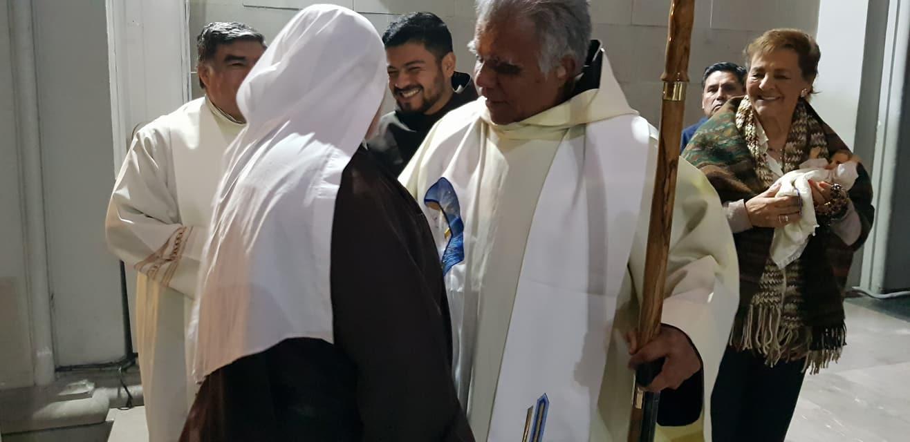 "Visita al Parroquia de Nuestra Señora del Carmen ""La Sabatina"""