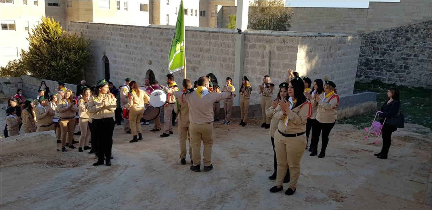 Visita de Scouts de Santa María de Jesús Crucificado