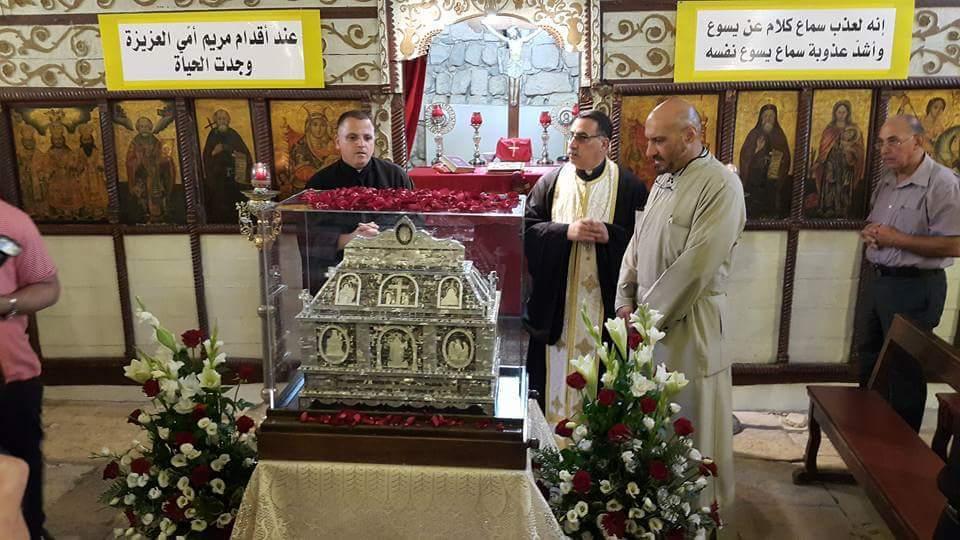 Saint Mary of Jesus Crucified visits Holy Land.